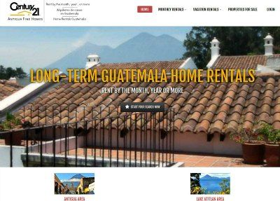 Homes For Rent By The Week Month Or Year Antigua Guatemala
