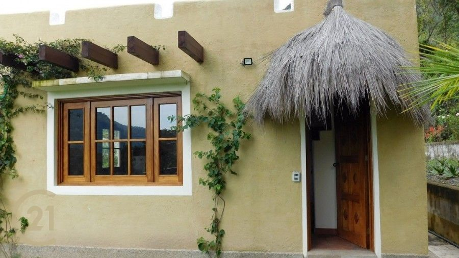New, Santa Fe style, 2-Bed Home with gardens For Sale Near Panajachel